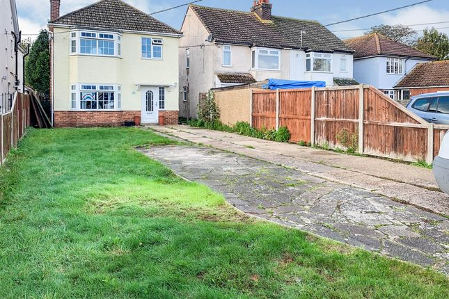 Thumbnail Detached house for sale in Mayes Lane, Ramsey, Harwich