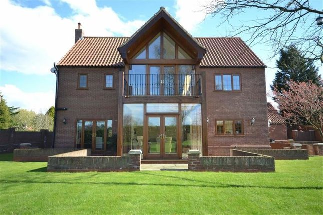 Thumbnail Detached house for sale in Knowles Garth, North Thoresby, Grimsby