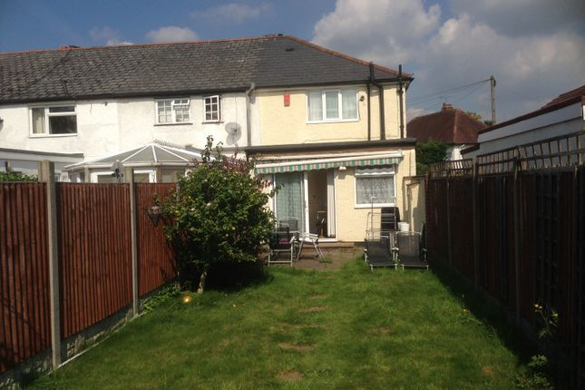 Thumbnail End terrace house to rent in Dennis Way, Cippenham, Slough