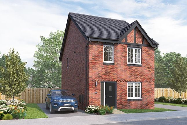 "Thumbnail Semi-detached house for sale in ""The Kilmington"" at Russell Drive, Wollaton, Nottingham"