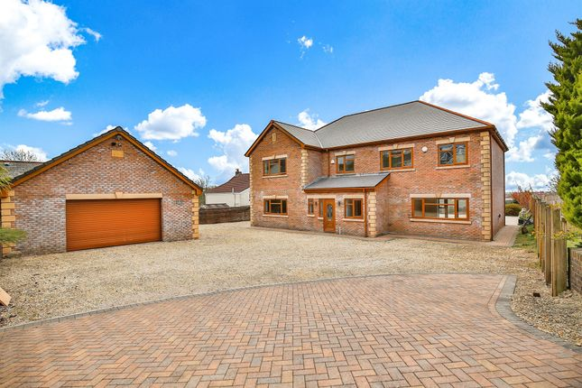 Thumbnail Detached house for sale in The Willows, Heol-Y-Cyw, Bridgend