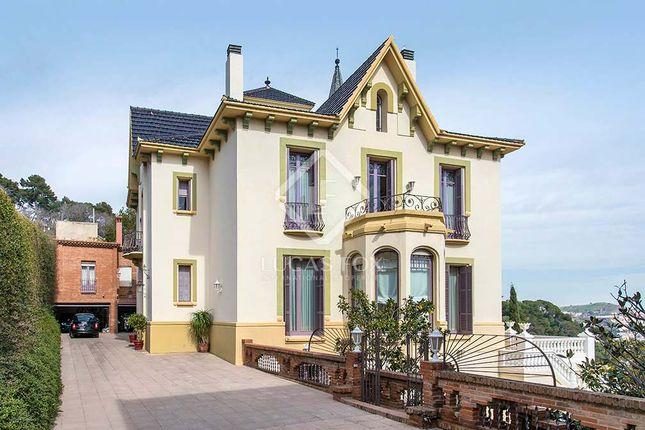 Thumbnail Villa for sale in Spain, Barcelona, Barcelona City, Sant Gervasi - La Bonanova, Lfs2437