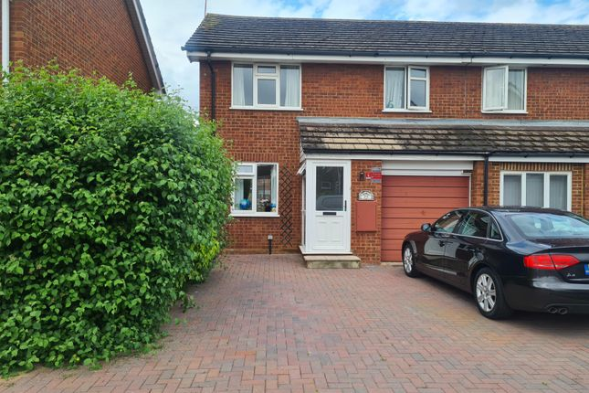 Thumbnail Semi-detached house to rent in Bissley Drive, Maidenhead