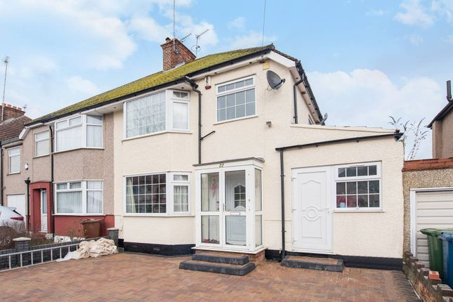 Thumbnail Semi-detached house to rent in Pinner Park Gardens, Headstone, Harrow
