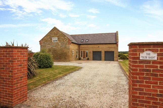 Thumbnail Detached house for sale in Tritlington, Morpeth