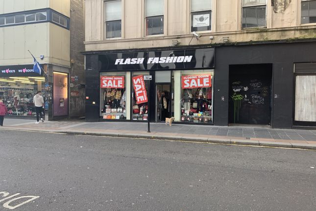 Thumbnail Retail premises to let in Queen Street, Glasgow