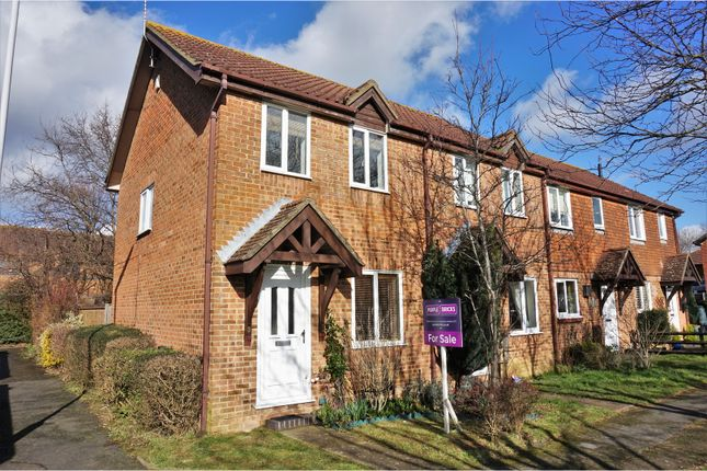 Thumbnail End terrace house for sale in Corfe Close, Worthing