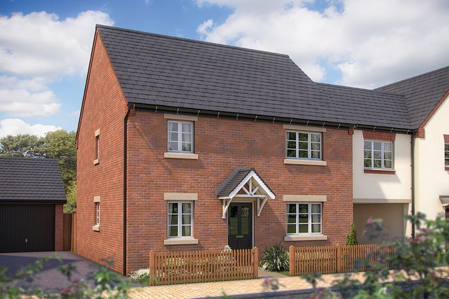 "Thumbnail Detached house for sale in ""The Canterbury"" at Whitelands Way, Bicester"