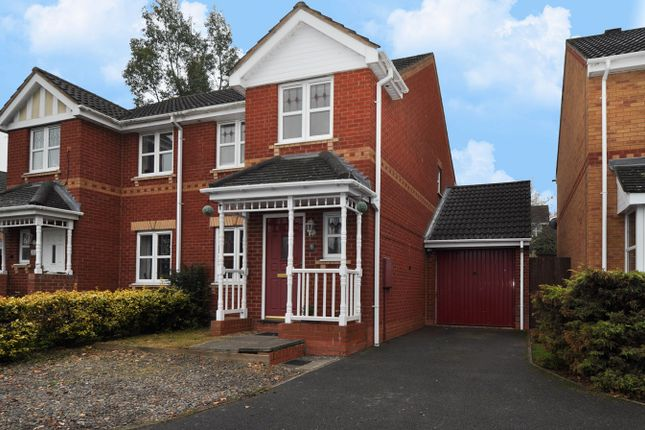 Thumbnail Semi-detached house for sale in Greenford Close, Redditch