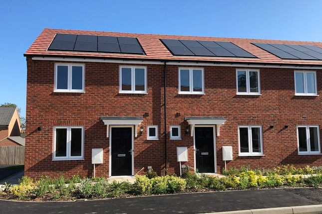 3 bedroom terraced house for sale in Cawston Rise, Trussell Way, Cawston, Rugby