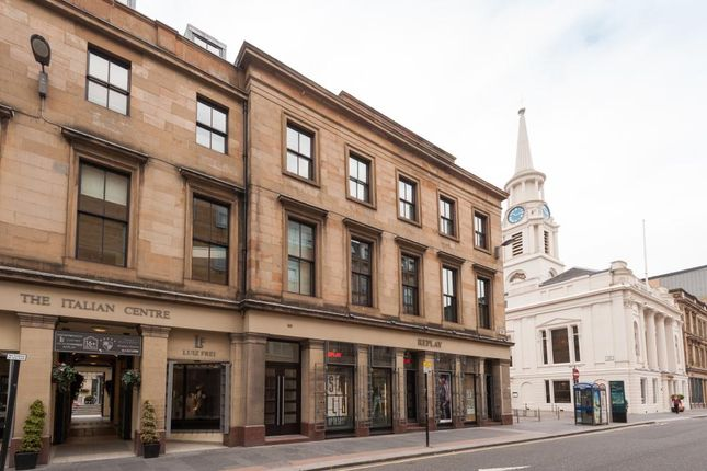 Thumbnail Flat to rent in The Italian Centre, 166 Ingram Street, Glasgow
