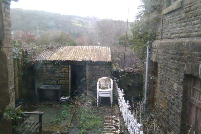 Garden of Saron Street, Treforest, Pontypridd CF37