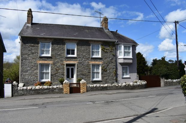 Thumbnail Detached house for sale in Drefach, Llandysul, Carmarthenshire