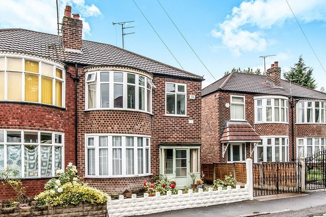 Thumbnail Semi-detached house for sale in Oakway, Didsbury, Manchester