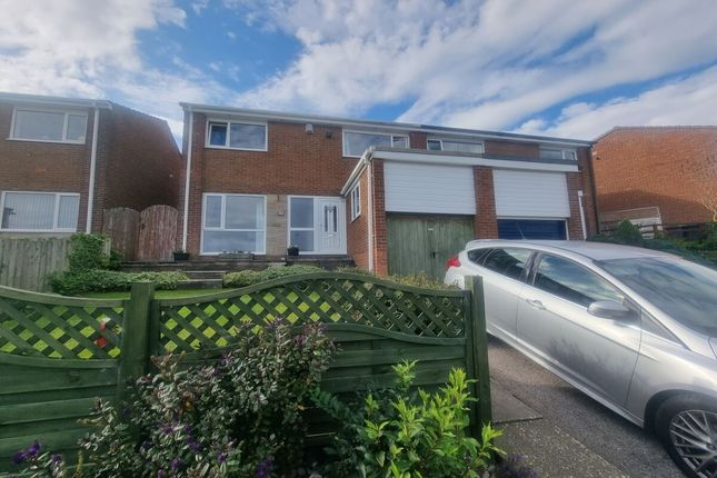 Thumbnail Semi-detached house for sale in Meadow Way, Lanchester, Durham
