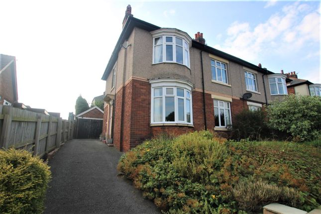 Thumbnail Semi-detached house for sale in Clarence Gardens, Bishop Auckland