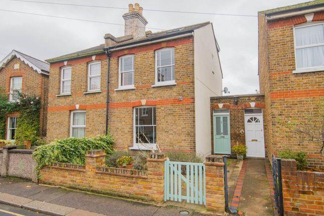 Thumbnail Semi-detached house for sale in Field Lane, Teddington