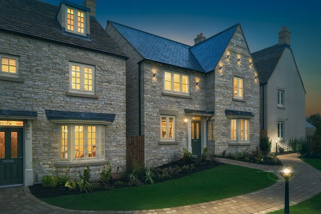 "Thumbnail Detached house for sale in ""Holden"" at Blackberry Walk, London Road, Cirencester"