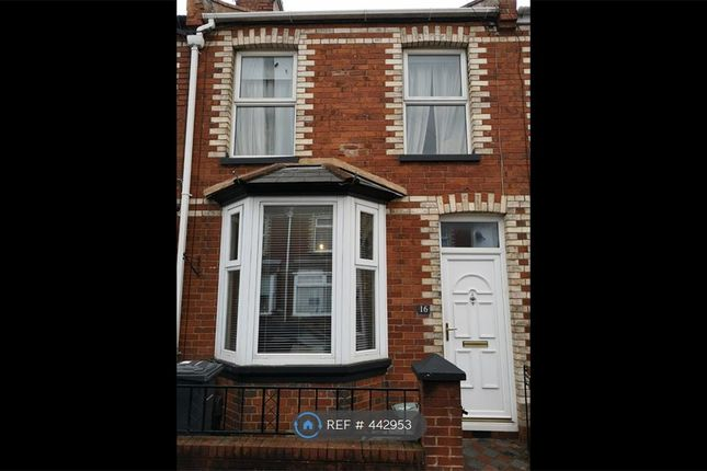 Thumbnail Terraced house to rent in Fords Road, Exeter
