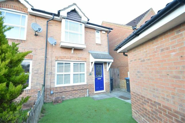 Thumbnail End terrace house for sale in Doulton Close, Church Langley, Harlow, Essex