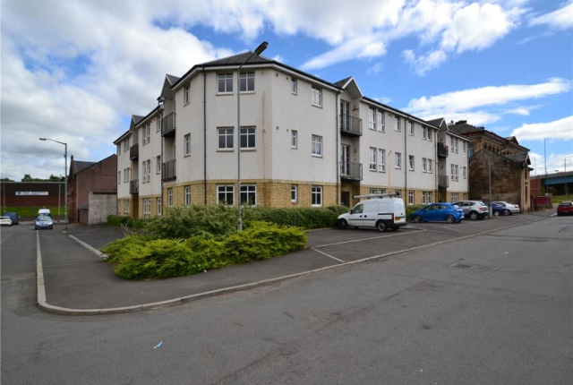 Thumbnail Flat to rent in Abbotsford Place, New Gorbals