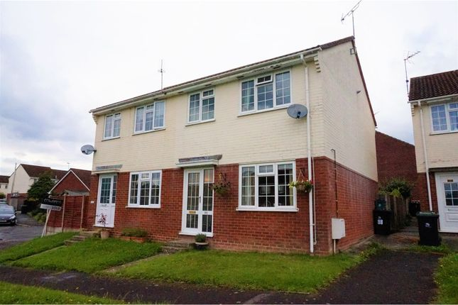 Thumbnail Semi-detached house for sale in Owls Road, Verwood