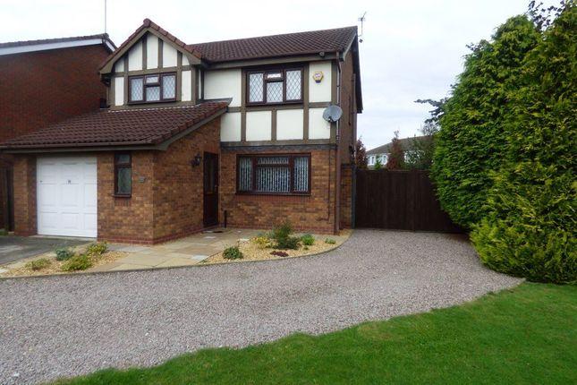 Thumbnail Detached house to rent in Darwin Road, Long Eaton, Nottingham