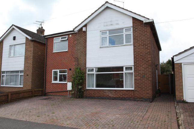 Thumbnail Detached house for sale in Iris Avenue, Glen Parva, Leicester