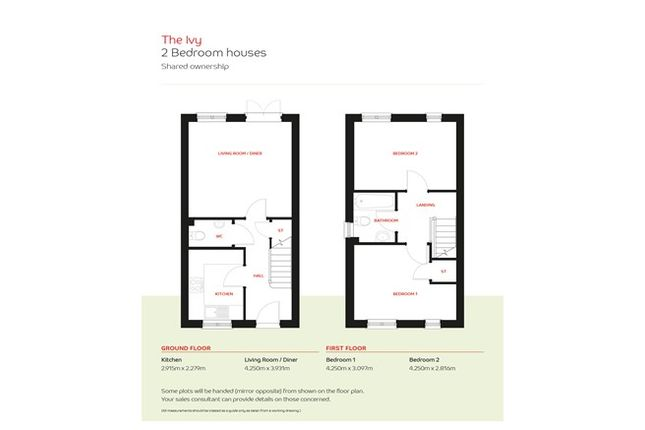 2 bedroom semi-detached house for sale in 2-Bedroom Houses, The Colleys, Grantham, Lincolnshire