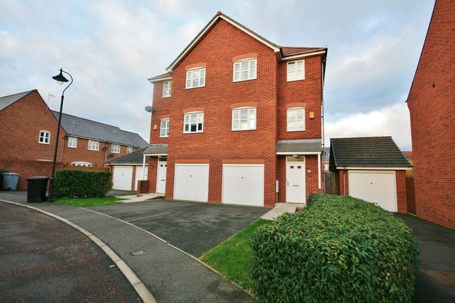 Thumbnail Semi-detached house to rent in Golden Hill, Weston, Crewe