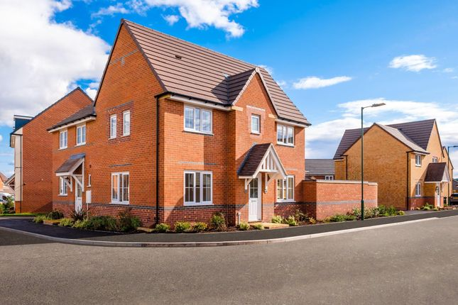 "Thumbnail Semi-detached house for sale in ""Morpeth"" at Saxon Court, Bicton Heath, Shrewsbury"