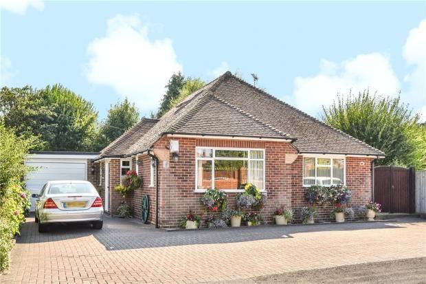 Thumbnail Detached bungalow for sale in Bramshot Drive, Fleet, Hampshire