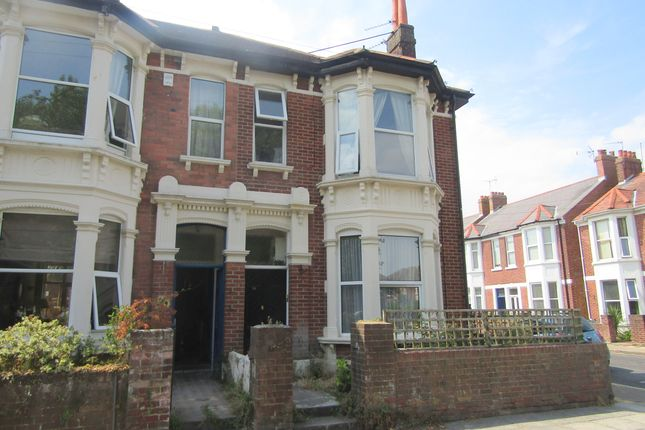 Thumbnail Maisonette to rent in Shirley Road, Southsea, Hampshire