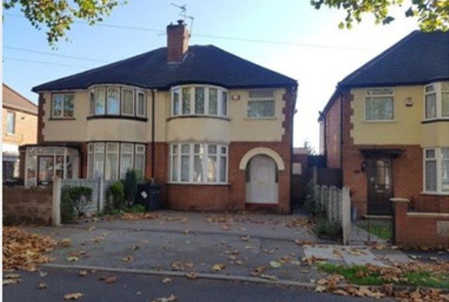 Thumbnail Semi-detached house to rent in Dunvegan Road, Birmingham