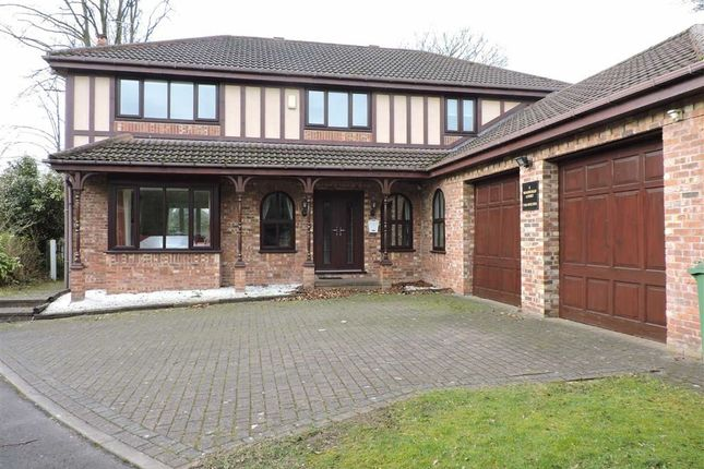 Thumbnail Detached house for sale in Woodleigh Court, Bury, Greater Manchester