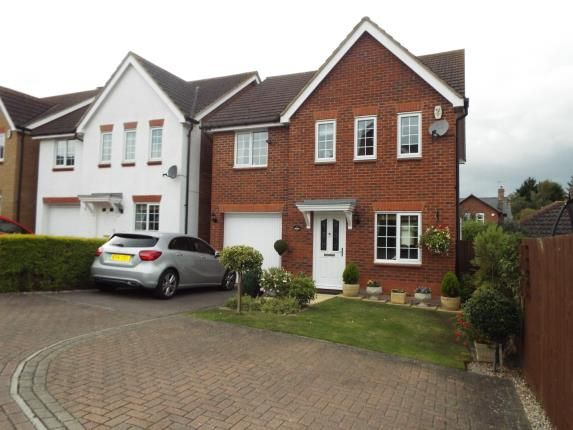 Thumbnail Detached house for sale in Gregory Close, Meppershall, Shefford, Bedfordshire