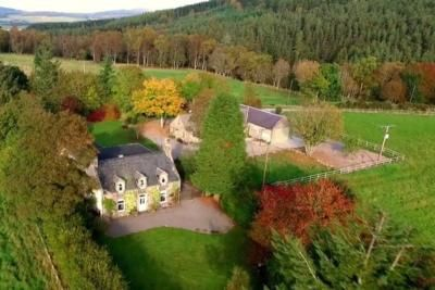 Thumbnail Detached house to rent in Dess, Aboyne