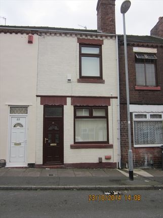 Thumbnail 2 bed terraced house to rent in Hollings Street, Stoke On Trent