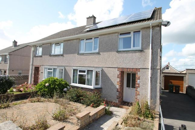 Thumbnail Property to rent in Dunstone View, Plymstock, Plymouth, Devon