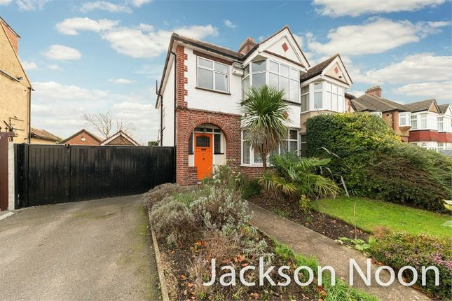 Thumbnail Semi-detached house for sale in Ruxley Lane, West Ewell, Epsom