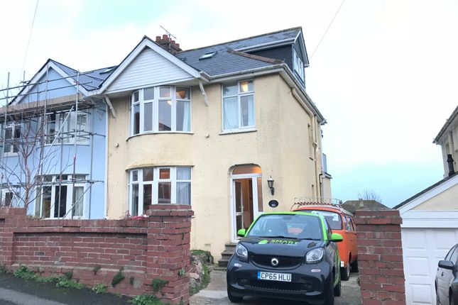 Thumbnail Semi-detached house to rent in Barnfield Road, Paignton