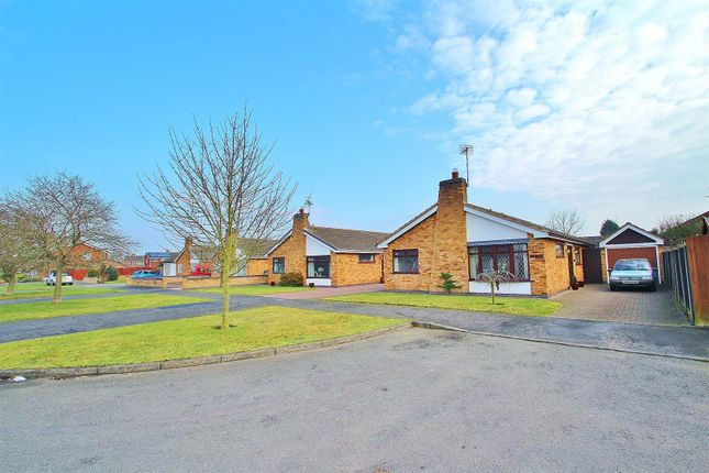 Thumbnail Bungalow for sale in Bracken Dale, East Goscote, Leicestershire
