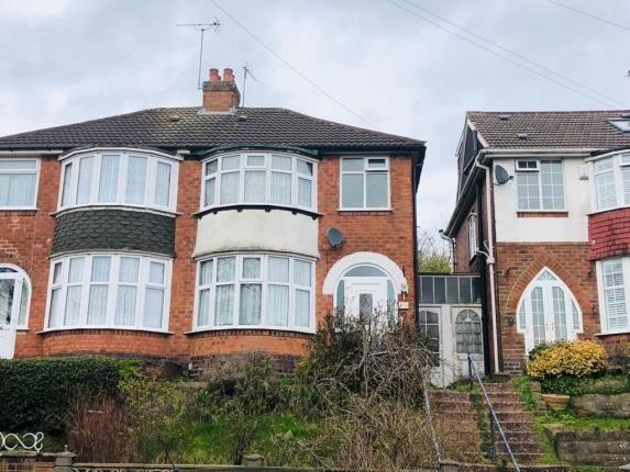 Front of Dorrington Road, Perry Barr, Birmingham, West Midlands B42