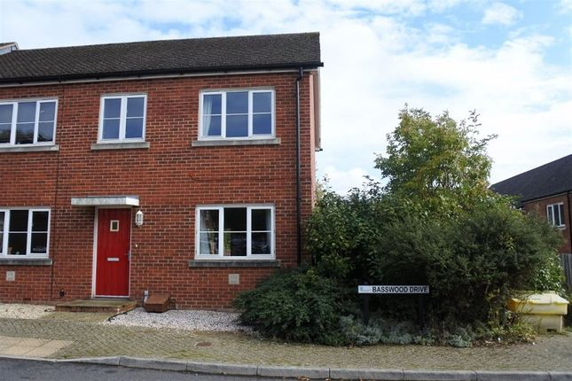 Thumbnail Terraced house to rent in Basswood Drive, Basingstoke