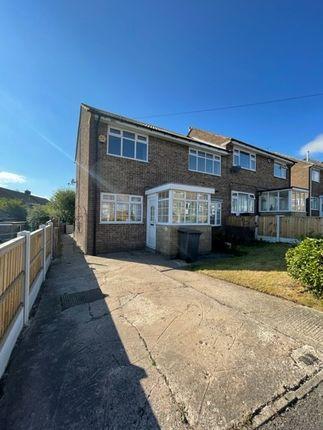 3 bed semi-detached house to rent in St Thomas Close, Tibshelf, Derbyshire DE55