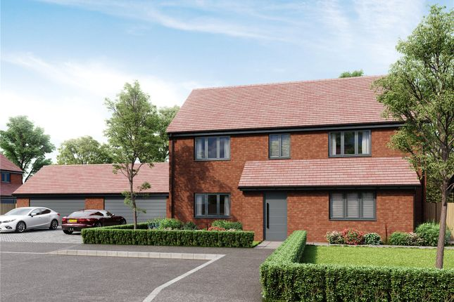 Thumbnail Detached house for sale in Castle End Farm, Lea, Ross-On-Wye, Hfds