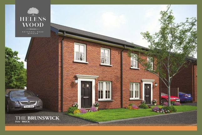 Semi-detached house for sale in Helens Wood, Rathgael Road, Bangor