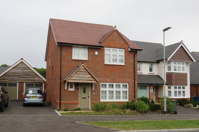 Thumbnail Detached house to rent in Vellum Drive, Archers Park, Sittingbourne