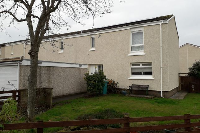 Thumbnail End terrace house for sale in Parkville Road, Bellshill