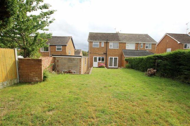 Thumbnail Semi-detached house for sale in Hafod Park, Mold, Flintshire